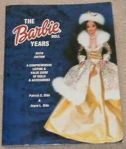 COLLECTOR BOOKS ~ THE BARBIE DOLL YEARS, 6th EDITION ~ Larger SOFTCOVER Book