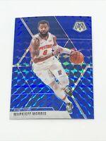 Markeiff Morris 2019-20 Mosaic Blue Prizm # /99 Detroit Pistons