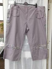 Evans Cotton Capri, Cropped Trousers for Women