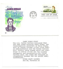 1935  18c James Hoban Cover Craft Cachets, CCC, FDC