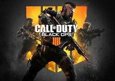 Call of duty Black Ops 4 Black Out GAME Photo Poster Print ONLY Wall Art A4 REF1