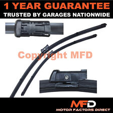 "FOR PEUGEOT 308 CC 2009- DIRECT FIT FRONT AERO WINDOW WIPER BLADES PAIR 30"" 26"""