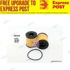 Wesfil Oil Filter WCO78 fits Peugeot 508 1.6 THP,2.0 HDi,2.2 HDi