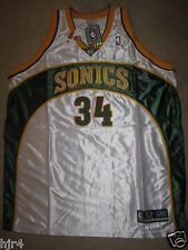 Ray Allen #34 Seattle Supersonics NBA Reebok Trikot 52 XL Neu Rookie