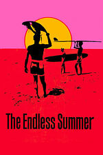 SURF Documentary: *ENDLESS SUMMER * Advance Poster 1966 Large Format 24x36