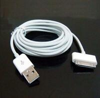 10ft 3M USB Data Sync Charge Cable Adapter for Apple iPad 2 iPhone 4 4S iPod TSR