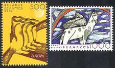 Belarus 2006 Europa/Penguins/Horse/Children's Art/Paintings/Birds 2v set n35514
