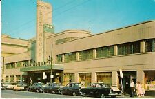 Greyhound Bus Terminal Cincinnatti OH Postcard 1953