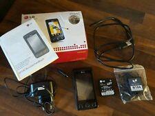 LG  Cookie KP500 - Schwarz (Ohne Simlock) Handy mit OVP