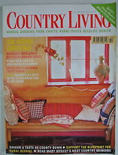 Country Living Magazine. October, 2001. Issue No. 190. On home ground.