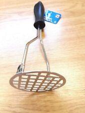 Stainless Steel 25 cm Potato Masher New UK Seller Free P&P