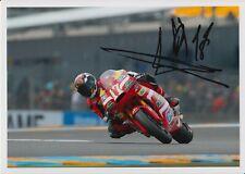 Alberto Moncayo Hand Signed 7x5 Photo - MotoGP Autograph 1.