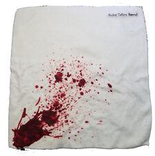 HOCKEY CULTURE APPAREL Fake Blood Splatter Visor Bench Towel NEW