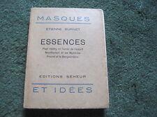 Etienne BURNET: Essences. E.O. N°tée