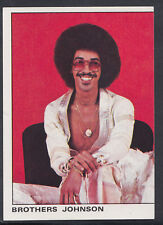 Panini 1980 Rock & Pop Collection - Sticker No 140 - Brothers Johnson  (S257)