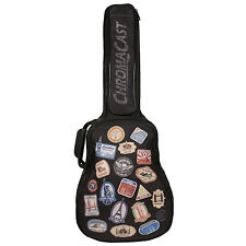 ChromaCast World Tour Graphic Multi-Pocket Acoustic Mini Jumbo Guitar Gig Bag