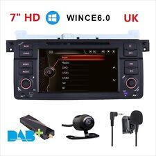 BMW E46 318 320 325 M3 Car DAB+ Radio DVD Player Stereo GPS SATNAV Bluetooth 3G