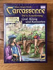 Carcassonne 6. Erweiterung Graf, König und Konsorten - Neu OVP