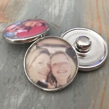 Personalized photo snap charm for noosa bracelet charm gingersnap ginger 18mm