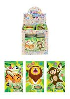 12 Mini Jungle Zoo Notepads / Notebooks Girls Boys Party Bag Fillers