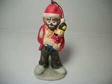 "Emmitt Kelly Christmas Tree Ornament 4"" tall"