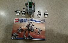LEGO Star Wars Clone Walker Battle Pack Set #8014 The Clone Wars 98% Complete