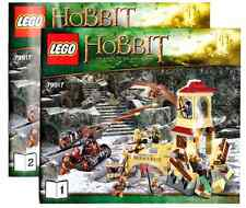Lego Instruction Manuel only for Set 79017 The Battle of Five Armies *NO SET*