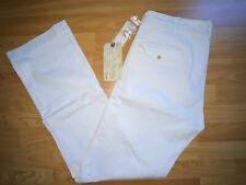 Ralph Lauren RRL double rl 2008 Pantalones Chino SSNL sanforizada de icono blanco 34 X 34