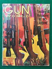 Rivista/Magazine (USA) GUN WORLD n.7 March (1963) M1 CARABINE