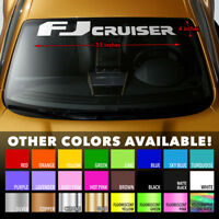Premium Windshield Banner Vinyl Decal Sticker for TOYOTA FJ CRUISER TRD