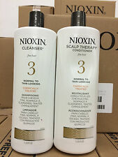 Nioxin System 3 Cleanser & Scalp Therapy Conditioner Duo - 33.8oz