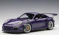 78169 AUTOart 1:18 Porsche 911 (991) GT3 RS Violet model cars