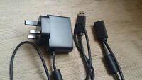 Official Xbox 360 Kinect Power Supply UK Plug Adapter