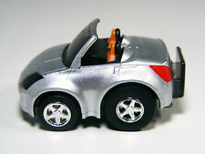 TAKARA TOMY Choro Q Nissan FAIRLADY Z ROADSTER Silver, Pullback Miniature car