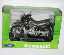 Welly -'02 escala 1:18 Modelo De Motos Kawasaki KLR650