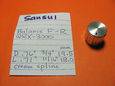 SANSUI QRX-3000 QUAD STEREO RECEIVER BALANCE KNOB FRONT TO REAR