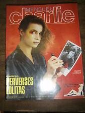 Charlie mensuel N° 32 1984 Amanda Lear Lolita Humour BD Erotisme Noces d'argot