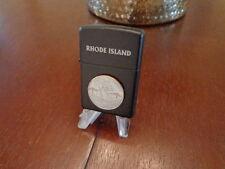 RHODE ISLAND STATE QUARTER ZIPPO LIGHTER LIMITED EDITION MINT IN BOX SET BREAK