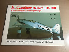 WAFFEN-ARSENAL BAND 120 - JAGDEINSITZER HEINKEL He 100