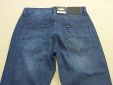 088 MENS NWT LEE L2 SLIM COOPER FATHOM BLUE STRETCH JEANS SZE 28 $170 RRP.