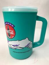 VINTAGE COCA-COLA COKE INSULATED LARGE MUG ~ ALADDIN ~ 1996 ~ Polar Bear