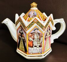 "Collector's Registered DesIgn James Sadler ""King Henry 8th & His 6 Wives"" Teapot"