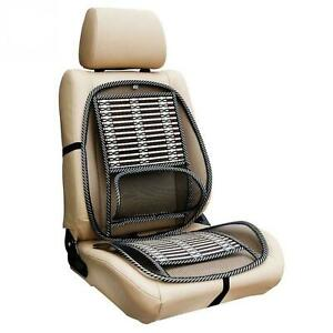 Lower Back Lumbar Support Car Seat and Office Chair Pain Relief Mesh Cushion UK