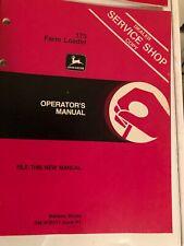 John Deere 175 Farm Loader Operators Manual Item 33