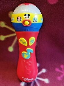 Disney Junior Mickey Mouse Clubhouse My First Microphone, Tested Works