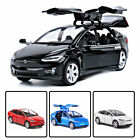 1/32 Tesla Model X 90D Model Car Alloy Diecast Toy Vehicle Collection Kids Gift