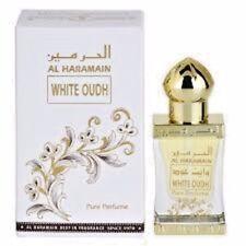 WHITE OUDH by AL HARAMAIN 12 ml Arabian Concentrated Perfume Oil / USA / GIFT