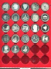 23 x 10 DM SILBERMÜNZEN POLIERTE PLATTE 1987 - 1997 KOMPLETTE SERIE IN BOX
