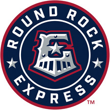 Round Rock Express (Aaa Astros) MiLb Die-Cut Decal / Sticker *Free Shipping