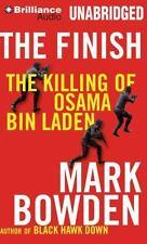 The Finish : The Killing of Osama Bin Laden by Mark Bowden (2013, CD,...